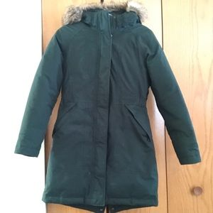 Small, Dark Green NorthFace Parka